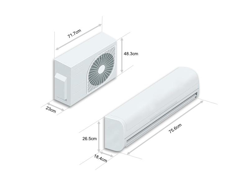 Điều hòa Casper 1 chiều 12000BTU inverter