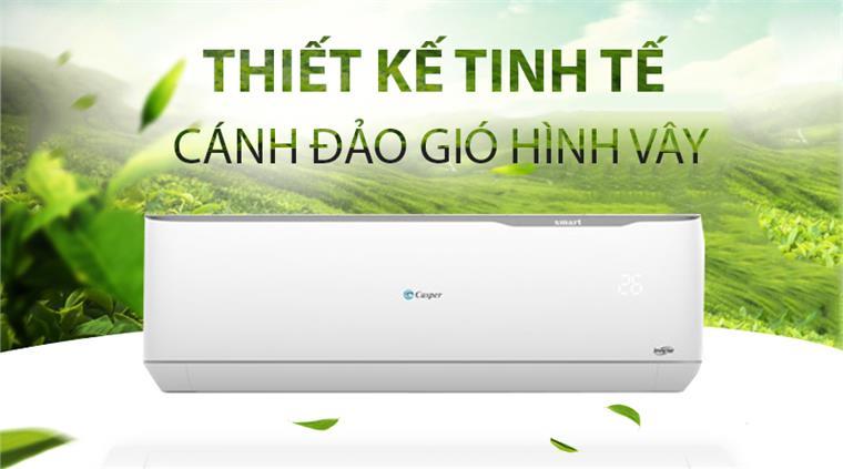 Điều Hòa Casper 2 Chiều Inverter 18000Btu GH-18TL32 Gas R32